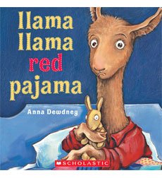 mama llama red pajama