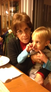 This is my favorite picture, though. Isn't nose picking every three year old's boy favorite pastime??