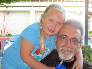 I love this picture of my dad and Luly. They are two peas in a pod.