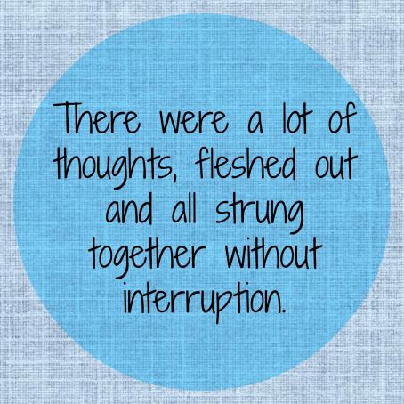 Thoughtsfleshedout